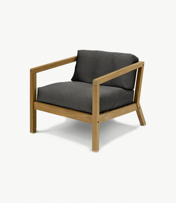 1505732 Virkelyst Chair, Charcoal