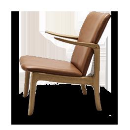 Wanscher-OW124-beak-chair-oak-oil-sif95_Side
